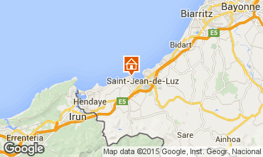 Map Saint Jean de Luz Apartment 9306