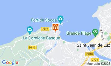 Map Saint Jean de Luz Apartment 9306