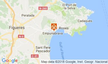 Map Empuriabrava Apartment 113462