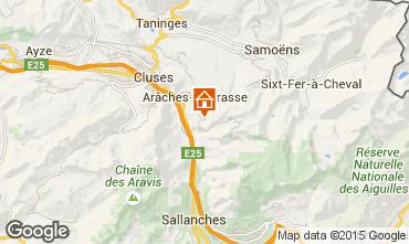 Map Les Carroz d'Araches Chalet 80383