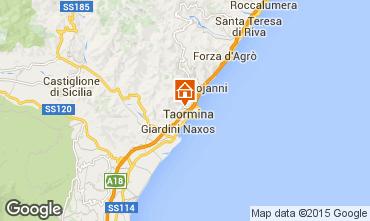 Map Taormina Apartment 92011