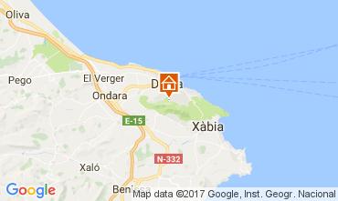 Map Denia Villa 110248