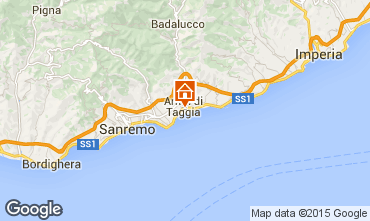 Map Taggia Apartment 97919
