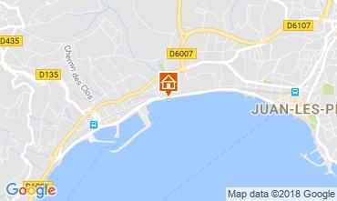 Map Juan les Pins Apartment 115401