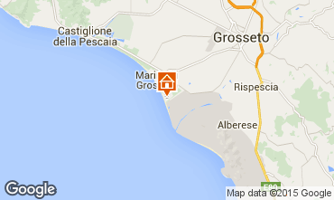 Map Principina a Mare Apartment 82306