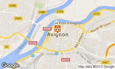 Map Avignon Villa 83403
