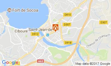 Map Saint Jean de Luz Apartment 112759