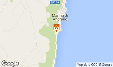 Map Andrano Apartment 88890