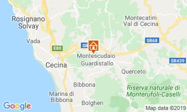 Map Montescudaio One-room apartment 116189