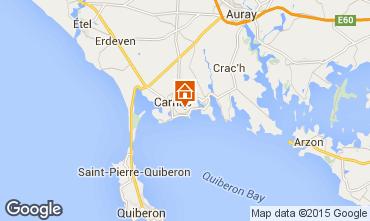 Map Carnac Apartment 45185