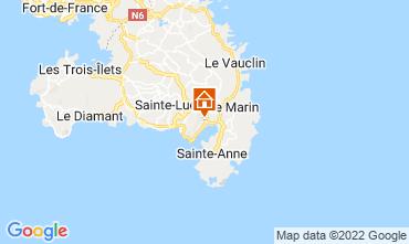 Map Le Marin Villa 73475