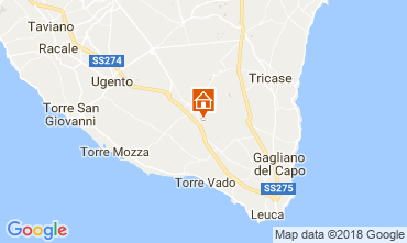 Map Lido Marini Villa 113875