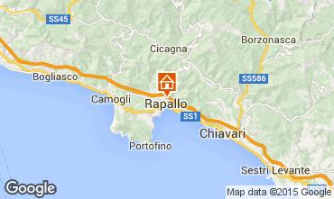 Map Rapallo Villa 83469