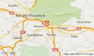 Map Aix en Provence Apartment 52909