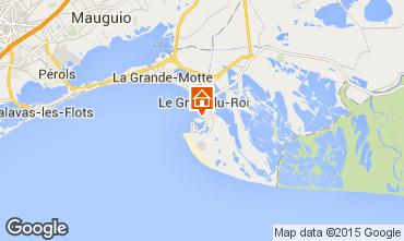 Map Port Camargue One-room apartment 68355
