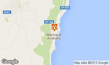Map Andrano Apartment 37142