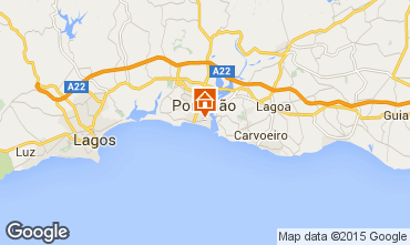 Map Praia da Rocha Apartment 57982