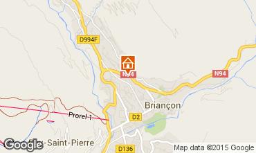 Map Briançon Apartment 73330