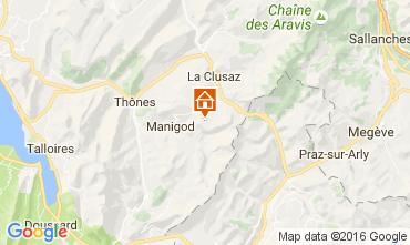 Map La Clusaz Apartment 843