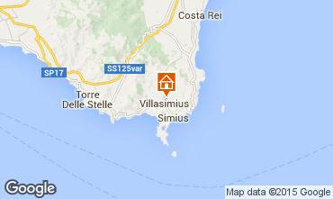 Map Villasimius House 60840