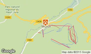 Map Mijoux Apartment 3737