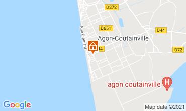 Map Agon-Coutainville Villa 15234