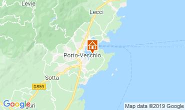 Map Porto Vecchio Villa 84149