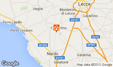 Map Porto Cesareo Apartment 62909