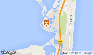 Map Le Barcares Apartment 81316