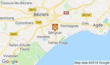 Map Sérignan House 118809