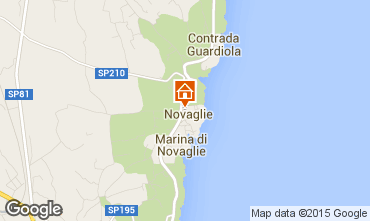 Map Marina di Novaglie Apartment 84450
