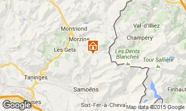 Map Morzine Chalet 97040