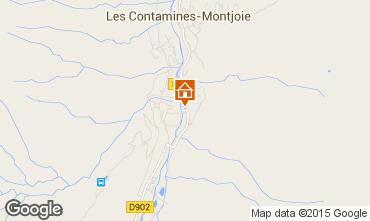 Map Les Contamines Montjoie Apartment 919