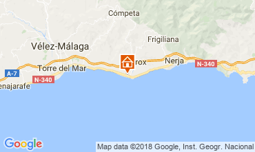 Map Torrox Apartment 115893