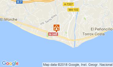 Map Torrox Apartment 115893
