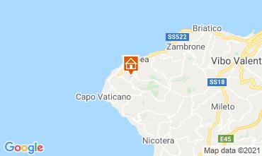 Map Tropea Apartment 56650