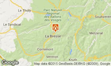 Map La Bresse Hohneck Vacation rental 4549
