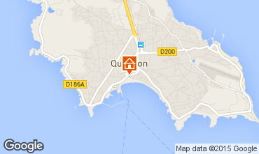Map Quiberon Apartment 82263