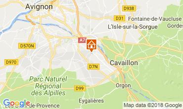 Map Saint Rémy de Provence Vacation rental 113890