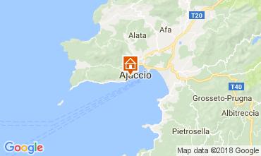Map Ajaccio Apartment 113319