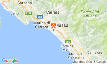 Map Marina di Massa Apartment 45704