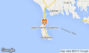 Map Quiberon House 8806