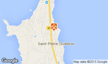 Map Quiberon House 8806