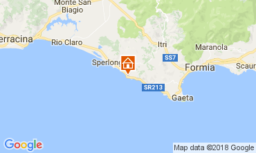 Map Sperlonga Villa 70140