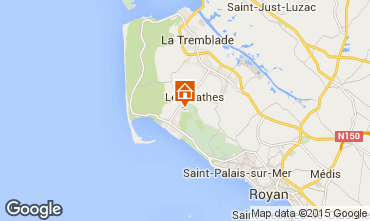 Map Royan Mobile home 21260