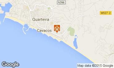 Map Quarteira Apartment 87590