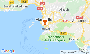 Map Marseille Apartment 103851