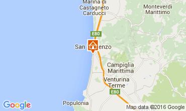 Map San Vincenzo Apartment 102751