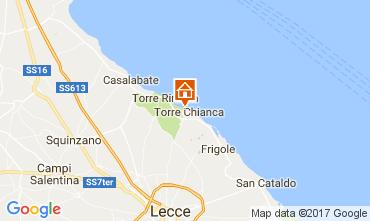 Map Lecce Villa 110136
