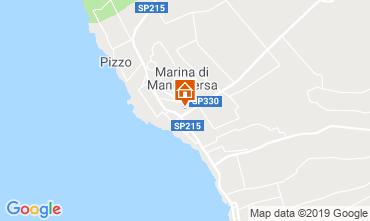 Map Marina di Mancaversa Apartment 118657